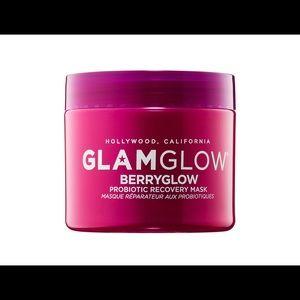 New GlamGlow Berry Glow Recovery Mask 2.5 oz